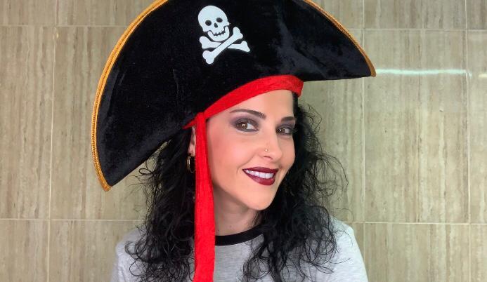 Maquillaje para disfraz de pirata