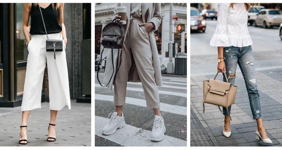 Pantalones Tobilleros Tendencia Primavera / Verano