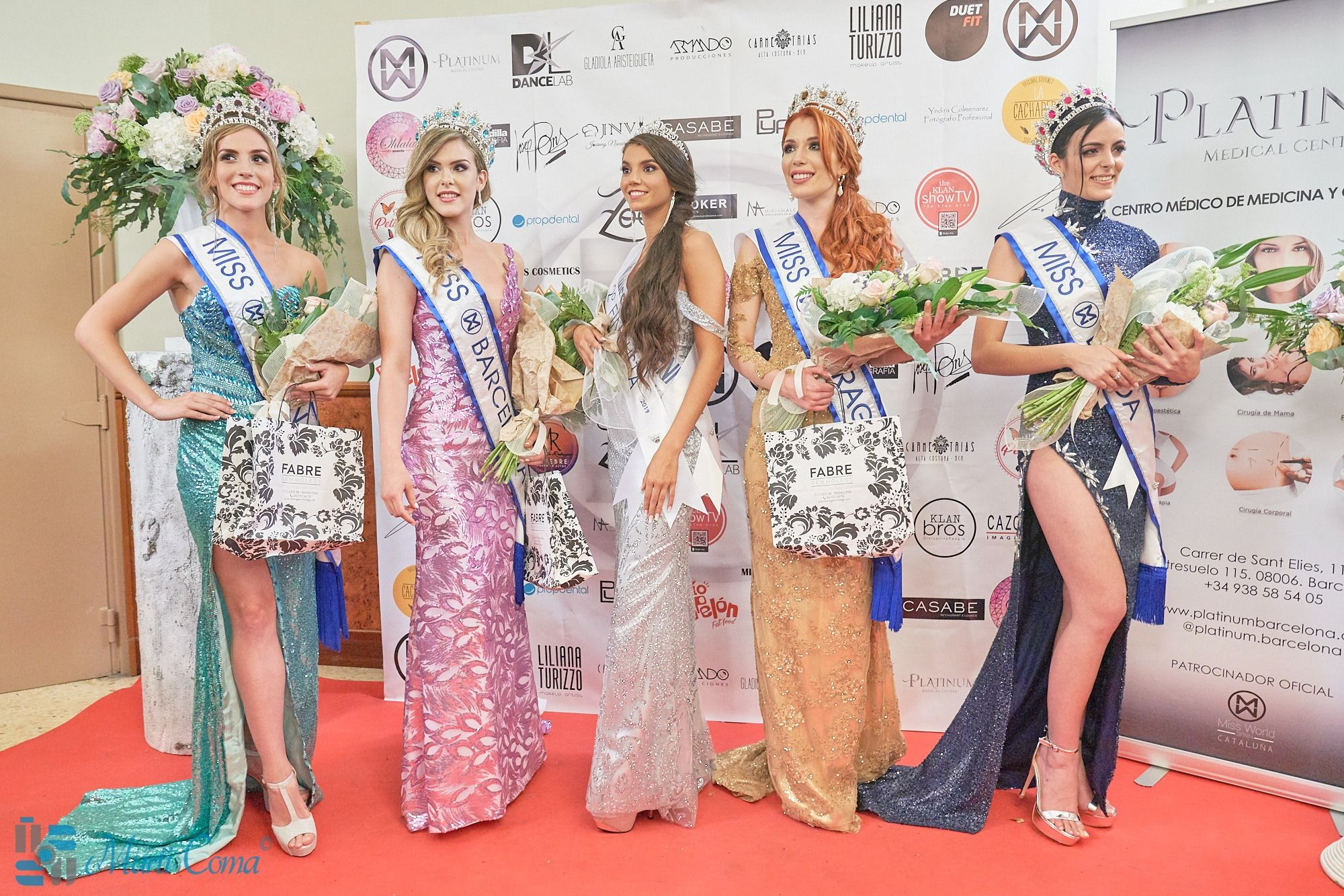 Ganadoras de Miss World Cataluña 2019