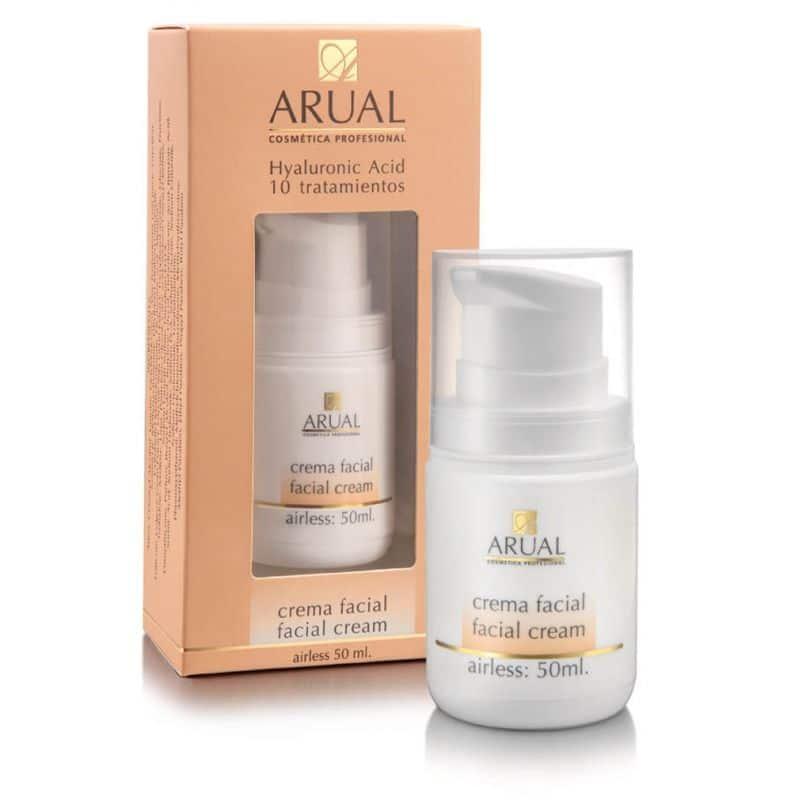 Crema Facial de Arual - Cosmética Profesional (10 tratamientos)