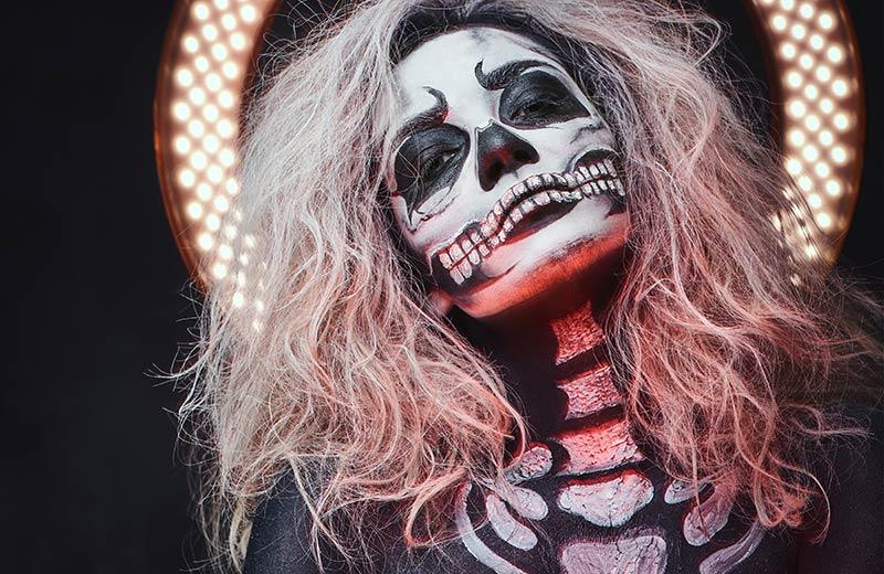 Maquillaje de Halloween 2020