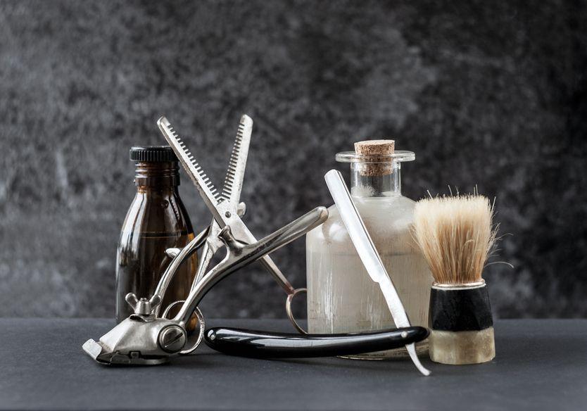 peluquería masculina y diseño de barba
