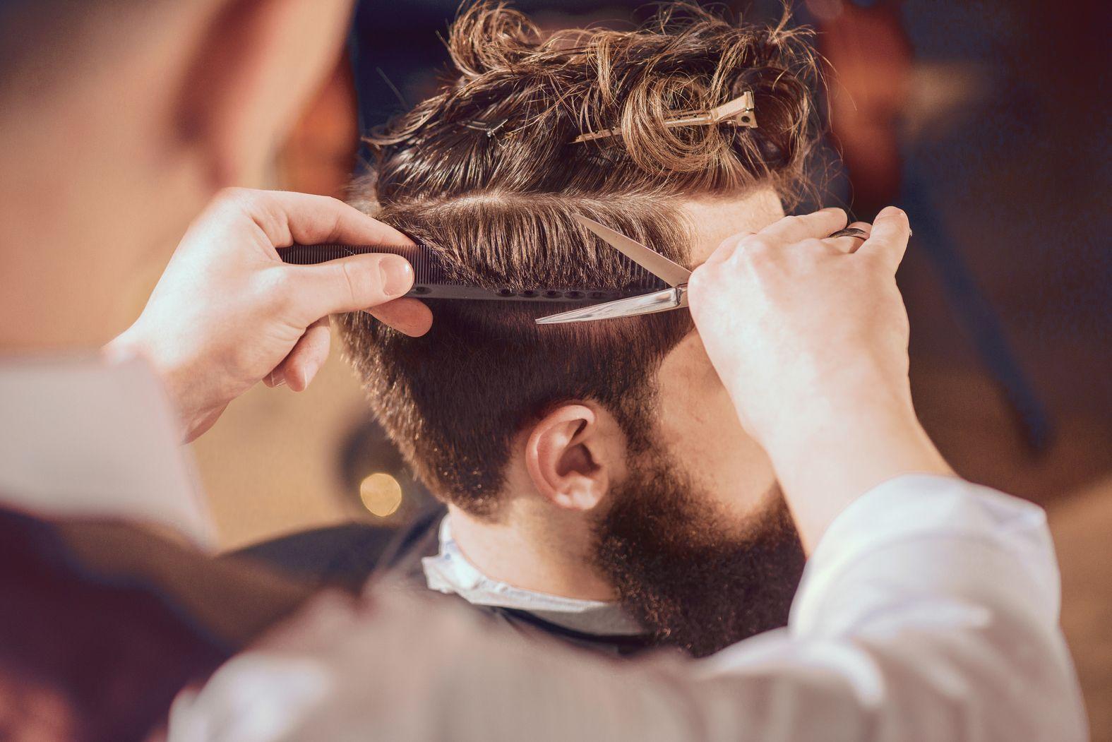 peluquería para hombres